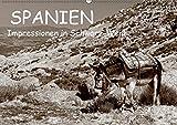 Spanien Impressionen in Schwarz-Weiß (Wandkalender 2019 DIN A2 quer): Spanien - mehr als nur Sonne und Strand (Monatskalender, 14 Seiten ) (CALVENDO Natur) - Benny Trapp