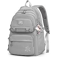 JANSBEN Backpack Womens Mens Waterproof School Bags for Girls Boys Casual Daypack Rucksack Large Multi-Pocket 30L
