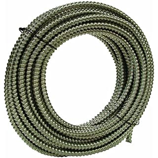 Southwire 55082303 100-Feet 3/4-Inch Alflex-Type RWA Reduced Wall Aluminum Flexible Metal Conduit by Southwire