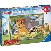 Ravensburger - Puzzle 2 x 24 piezas, Leon Guardian (09104)