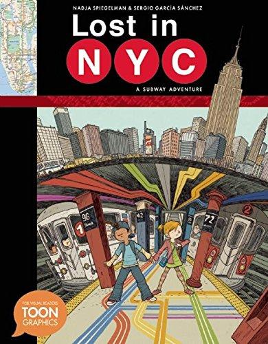 Lost in NYC: A Subway Adventure HC (TOON Graphics) por Sergio Garcia Sanchez