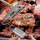 cambiables 55 cartas barbacoa identificacin marca de herramientas de hierro