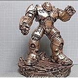 QYZHCP Iron Man Toy Model, Figurine Action Iron Man Avengers Anti-Olk Armor - Support Détachable (Color : B)
