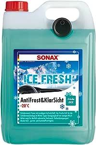 Sonax 4x 01335410 Antifrost Klarsicht Bis 20 C Icefresh Scheibenreiniger 5l Auto