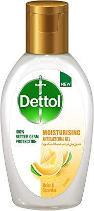 Dettol Moisturizing Anti-Bacterial Hand Sanitizer 50ml – Melon & Cucumber