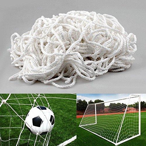 Red Para Portería de Fútbol (7,3 x 2,4 m de profundidad superior 0,80/inferior 1,50 m) 11 Personas Deportes Entrenamiento y Competiciones