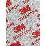 3M–Soft Pads 03810Superfine (P400–P500, Después De Lazos de curvas, los bordes redondeados, 20unidades)