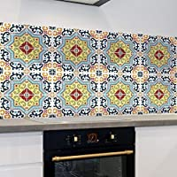 """150mm T4 24 X BLACK GREY MOSAIC MARBLE EFFECT TILE STICKERS TRANSFERS 6/"""""""