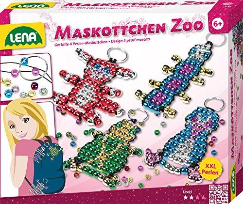 Lena 42021 - Maskottchen Perlenset (Tier Maskottchen)