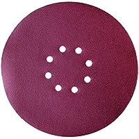 Einhell Schleifpapier passend für Trockenbauschleifer (Durchmesser 225 mm, Klett, Körnung P120, 10-teilig)