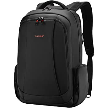 ba9215a1240e Tigernu Business Laptop Backpack Slim Anti Theft Travel Computer Backpacks  Environmentally Waterproof Laptops Bag For Men Women 15.6Inch Black