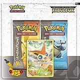 Asmodee - 2PACK2004 - Pack 20 ans - Pokémon - 2 Boosters + Carte Promo - Victini + Genesect + Keldeo