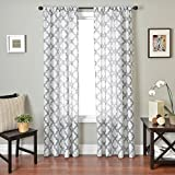 Softline Home Fashions Window Sheer/Panel/Drape/Curtain with Rod Pocket - Best Reviews Guide