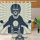 Skull Decor Skull Wear Helmet Cool Cloth Ride - Best Reviews Guide