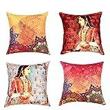 Sej by Nisha Gupta HD Digital Print Silk...