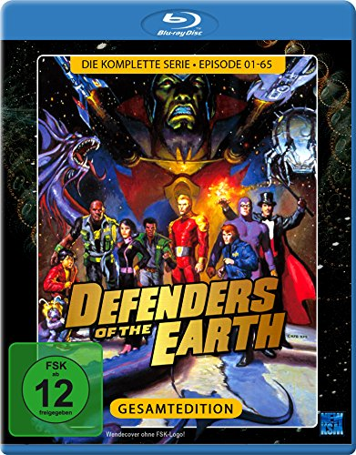 Defenders of the Earth - Die komplette Serie [Blu-ray] (exklusiv bei Amazon.de) Kinder-tv/dvd-combo