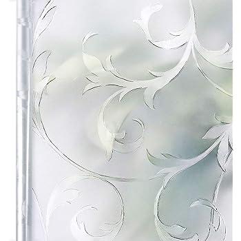 Homein Fensterfolie Sichtschutzfolie Milchglasfolie Selbstklebend