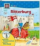 WAS IST WAS Junior Band 6. Ritterburg: Wie sieht es auf der Ritterburg aus? Was macht ein Ritter in seiner Freizeit? Wer arbeitet auf einer Burg? (WAS IST WAS Junior Sachbuch, Band 6) - Martin Stiefenhofer