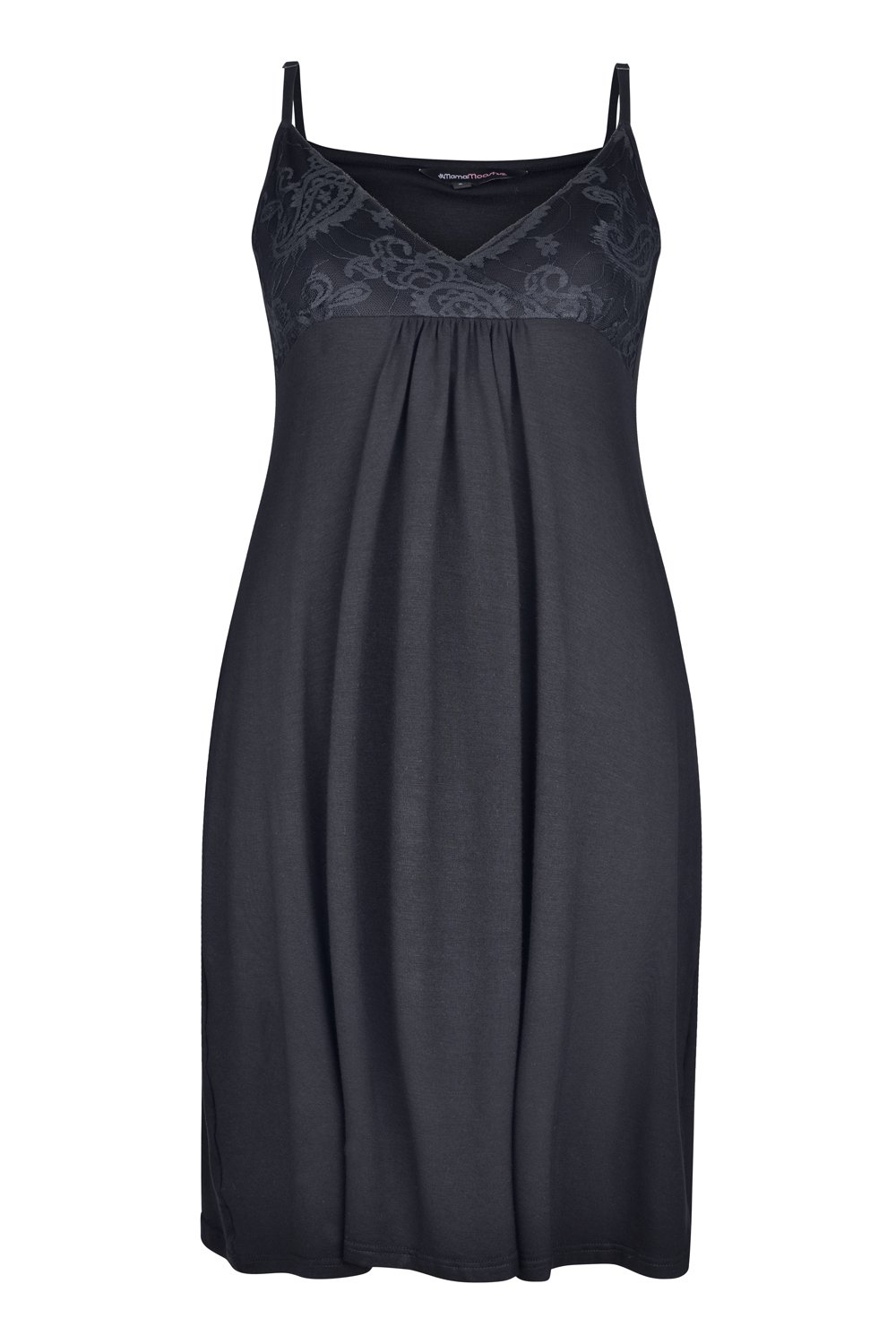 04ba621c569 Indulgence Nightdress in Jet Black (Maternity   Nursing) (Large - UK  14-16)  Amazon.co.uk  Baby