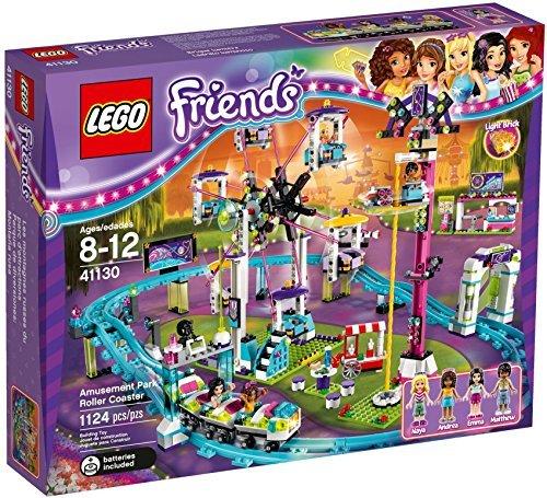 LEGO 41130 Friends Amusement Park Roller Coaster Construction Set by LEGO