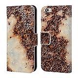 Head Case Designs Offizielle PLdesign Rostiges Metall Gewebe Holz Und Rost Drucke Brieftasche Handyhülle aus Leder für iPhone 6 / iPhone 6s