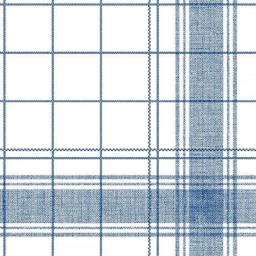 ten 40x40 cm | Premium Einweg-Serviette | textilähnlich und saugstark | perfekt für Hochzeit & Partys | 50 Stück | Nadeem (Blau) ()
