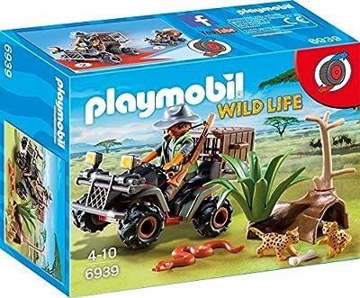 Playmobil 6939 Braconnier avec quad