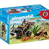 Playmobil Vida Salvaje - Explorador con Quad (6939)