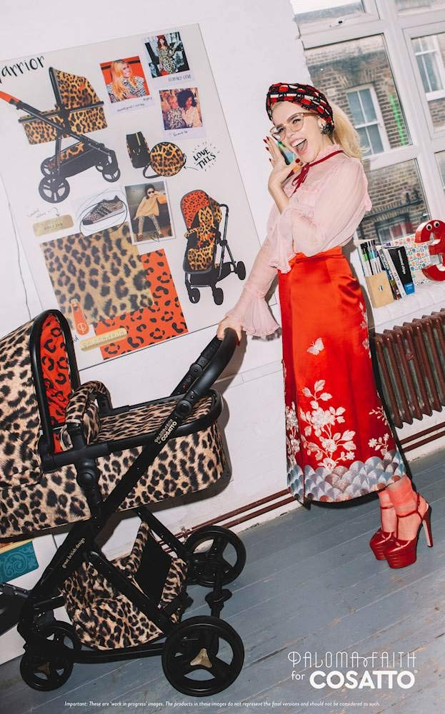 Cosatto Paloma Faith Giggle Pram and Pushchair Hear Us Roar - Leopard Print Cosatto Giggle 3 is your classic nippy 3-wheeler, lightweight but sturdy and super easy to use The from-birth carrycot, (suitable for occasional overnight sleeping), converts to pram mode Reversible pushchair unit when they're ready to sit up 7