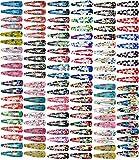 Klamsie 120 Stück Haarspangen 2.te Wahl (12 SB Karten mit je 10 Haarspangen = 120 Stück) Hairclips