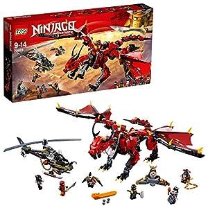 LEGO- Ninjago Dragone del Destino, Multicolore, 70653  LEGO