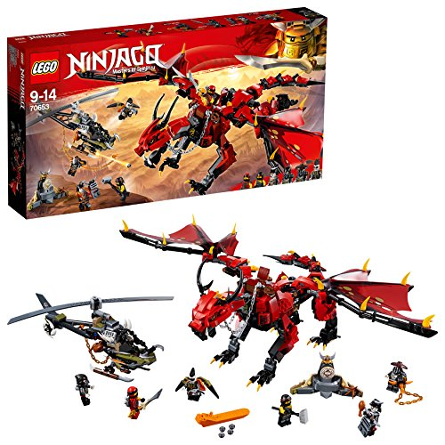 LEGO Ninjago - Le dragon Firstbourne - 70653 - Jeu de Construction