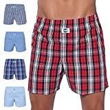 D.E.A.L International 5-er Set Boxershorts Karo-Mix Size XL