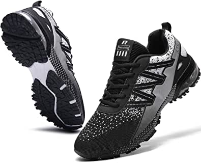 Ahico Scarpe da Ginnastica da Corsa da Uomo Scarpe da Tennis Leggere Moda Traspirante Atletica Sport per Gli Uomini