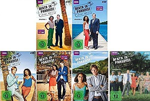 Preisvergleich Produktbild Death in Paradise - Staffel 1-6 im Set - Deutsche Originalware [24 DVDs]