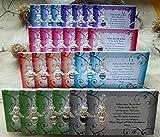 Tischkarten Gastgeschenk Schutzengel Kommunion Konfirmation Hochzeit Farbwahl