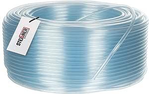 Steigner Benzinschlauch Wasserschlauch Pvc Schlauch Transparent Durchmesser 4 6 Mm Länge 10 M Sbs 02 10 Garten
