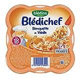 Blédina Blédichef Blanquette de Volaille dès 18 mois 260 g - Lot de 3