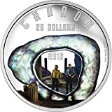 THE CITY ON THE EDGE OF FOREVER Star Trek Silber Münze 20$ Canada 2016