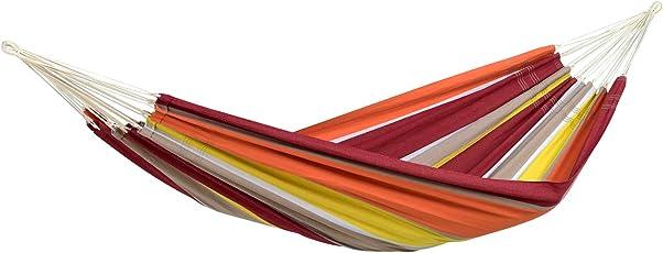 Amazonas AZ-101816 Barbados Hängematte, Belastbarkeit 200 kg, Liegefläche 230 x 150cm