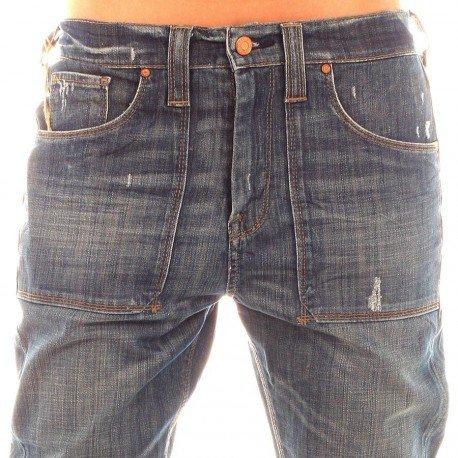 Le Temps des Cerises 250Solway Carota Blu Donna Jeans donna Blue 25W x Regolare