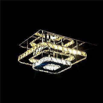 Global- Crystal Light moderne minimalistische LED Decke Gang ...
