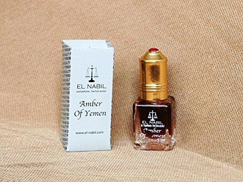 Pack de 12 EL NABIL 5ml Amber of Yemen 100% huile