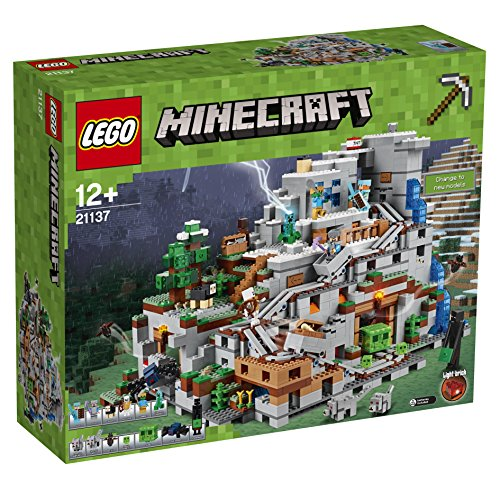 LEGO Minecraft 21137 the Mountain Cave construction Toy