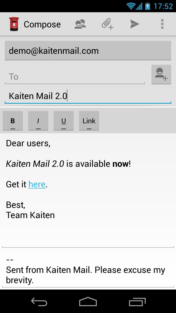 Kaiten Mail (Free)