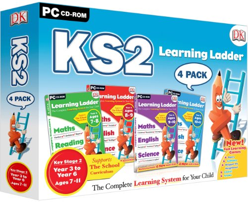 Learning Ladder KS2 Four Pack - Includes Years 3, 4, 5 & 6 (PC) Test