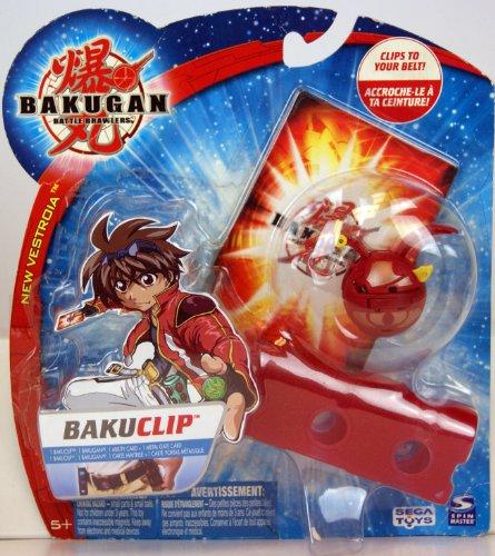 BAKUGAN BAKUCLIP - Red (8479)