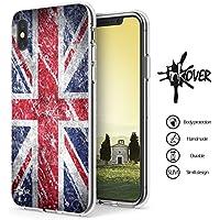 INKOVER Cover iPhone X   XS Custodia Cover Guscio Soft Case Bumper  Trasparente Sottile Slim Fit b946412c4bad