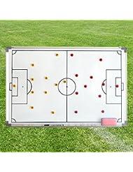 Avec sac pour tableau de stratégie sportive 90 x 60 cm-pour teamsportbedarf fußballtraining-magnétique