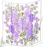 Best Next Level Apparel Next Level Next Level Apparel Lilacs - Jingjingart Brand New 100% Jacqard Charmeuse Silk Scarf Review